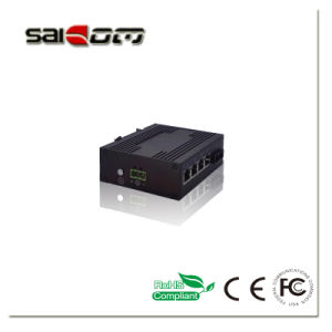 Saicom IP40 No condensation Gig Industry network - schalter for Monitoring pictures & photos