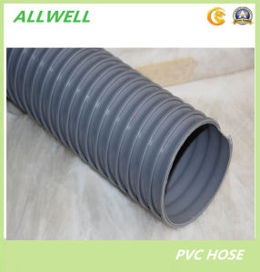 PVC Suction Spiral Garden Discharge Water Irrigation Hose Pipe pictures & photos