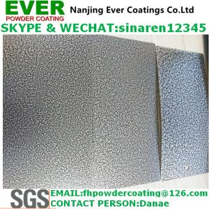 Electrostatic Decorative Antique Siver Vein Hammer Tone Texture Powder Coating Paint pictures & photos