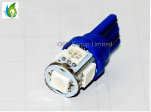 T10 5SMD 5050 Car LED Light Bulb Parking Fog Light Auto Car Light Projector Turn Tail Signal DRL Bulbs pictures & photos