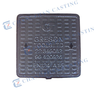 Anti-Theft Ductile Iron Manhole Cover with Locks En124 pictures & photos