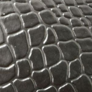 SGS Certification Crocodile Skin Draw Bar Box Luggage Bags Leather PVC Leather pictures & photos