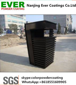 Electrostatic Spray Feihong Ral9005 Black Spray Powder Coating Coat Paint pictures & photos