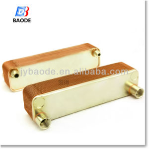 Bl95 Series (Equivalent Alfa laval CB76, Dandoss B3-095) Copper Brazed Plate Oil Cooler Heat Exchanger for Marine Oil Cooling pictures & photos