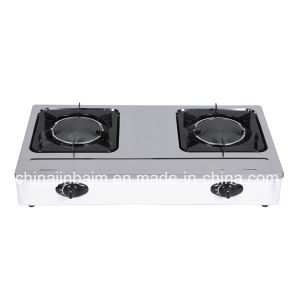 2 Burner Stainless Steel 150 Indrared Gas Cooker pictures & photos