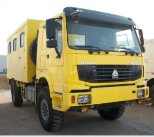 Sinotruk 4X4 Mobile Workshop Truck pictures & photos