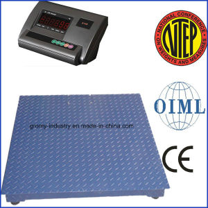 Digital Weighing Scales 1000kg Platform Floor Scale pictures & photos