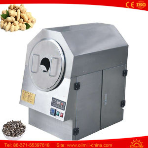 Electric Stainless Steel Peanuts Drum Mini Cacao Grain Nut Roaster pictures & photos