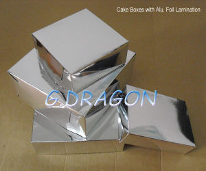 Customed Aluminum Coated Paper Cake Box-007 (GD-CB007) pictures & photos