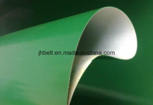 PVC Conveyor Belt Top Smooth Bottom Fabric Thickness 2.0/3.0/4.0mm