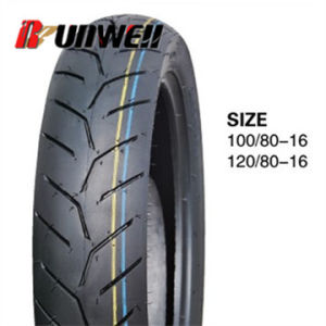 Motorcycle Tubeless Tires 100/80-16 120/80-16 pictures & photos