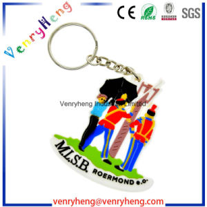 Hot Sale Cartoon PVC Keychain Key Chain for Promotion Gift pictures & photos