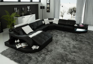 Home Furniture New Design Living Room Leather Sofa (HC1100) pictures & photos