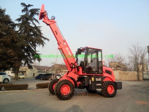 Telescopic Boom Wheel Loader Zl15f Ce TUV SGS Certificate Teleskoplader pictures & photos