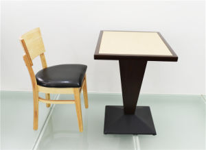 New Design Fancy Hotel Table and Chair for Sale (FOH-CXSC76) pictures & photos