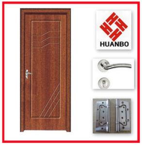MDF Wood PVC Laminated Door Design for Room Hb-131