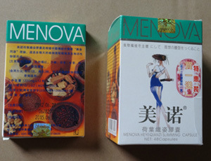 Lose Weight Menova Heyeqianzi Slimming Herbs Capsule pictures & photos