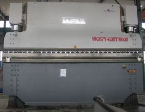 Hydraulic Press Brake (WC67Y 600T6000) pictures & photos