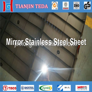 304 Mirror Finished Stainless Steel Sheets pictures & photos