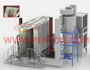 Latest Powder Spray Booth for Color Changing with ISO9001 pictures & photos