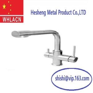 Precision Lost Wax Casting Stainless Steel Water Tap pictures & photos