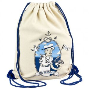100% Natural Cotton Bag with Designed Ribbon pictures & photos