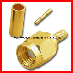 SMA Plug Straight Crimp Type Connector for Rg316, Rg174, Rg405, LMR200 Coaxial Cable pictures & photos