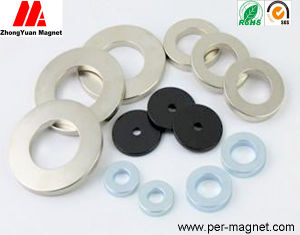Ring Rare Earth NdFeB Permanent Magnet for Motor Assemblies