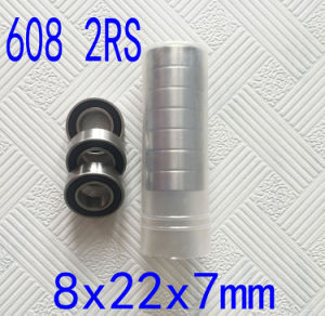 High Precision 608 Skateboard Ball Bearing Hybrid Ceramic Ball Bearings 608 2RS pictures & photos