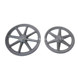 Aluminum Belt Wheels in Machine