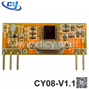 433.92MHz Ask RF Superheterodyne Wireless Receiver Module (CY08-V1.1)