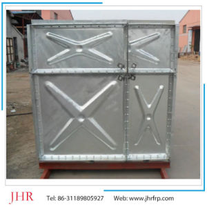 Pressed Assembled Steel Galvanized Water Tank pictures & photos