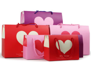 Foldable Printing Carrier Paper Bag pictures & photos