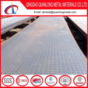 Q235 Hot Rolled Ms Checkered Floor Steel Plate pictures & photos