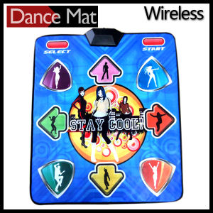 Wireless 16 Bit Graphics TV PC Plug & Play Single Player Dance Pad with 180 Songs pictures & photos