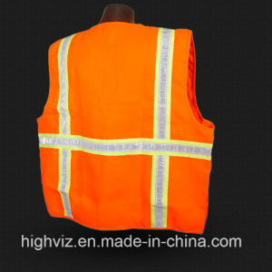 High Visibility Safety Vest with ANSI07 (C1004) pictures & photos