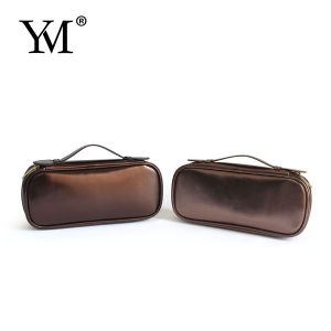 Leather Makeup Brush Bag for Cosmetic pictures & photos