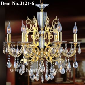 2013 Chandelier with K9 Crystals (HP3121-6)