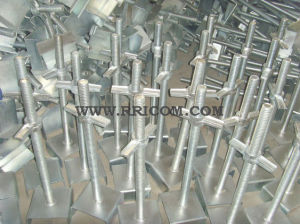 Galvanized Scaffold Base Jack for Construction pictures & photos
