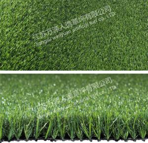 Customized Natural Looking Landscape Atrificial Grass for Garden Balcony pictures & photos