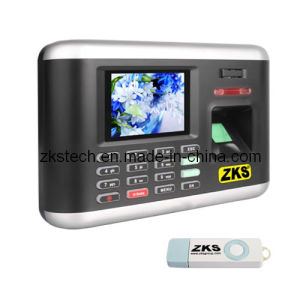 GPRS USB Time Attendance Scanner Zks-T1
