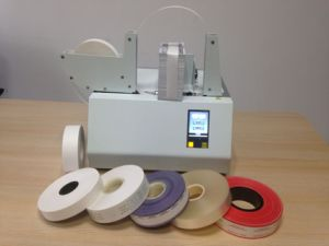Binding machine Feeding with Paper Tape and OPP Film