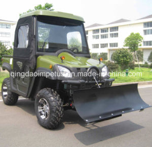 500cc 4X4 Automatic Transmission UTV with Snow Plow pictures & photos