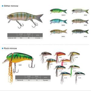 Hard Plastic Multi Jointed Swim Crankbait Fishing Lure pictures & photos
