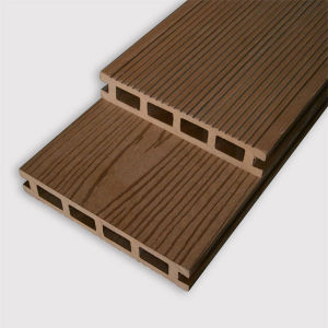 Composite WPC Hollow Decking Floor with Short Lead Time pictures & photos