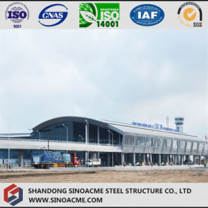 Steel Structure Aircraft Hangar with Arc Roof pictures & photos