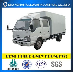 Isuzu 100p 1.2 - 1.85 Ton 2 - 10 M3 Double Row Light Duty Van Truck pictures & photos