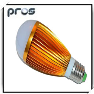 780lm Aluminium Golden 8W LED Light Bulbs pictures & photos