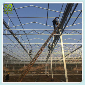 Multi Span Agricultural PC Greenhouse with Thermal Blanket pictures & photos