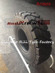 18*7-8 /28*9-15/ 500-8/ 600-9/ 650-10 Tubed Forklift Tyre with Inner Tube and Flap pictures & photos